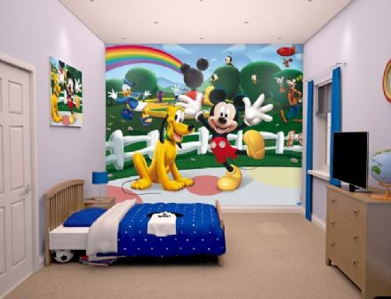 Photo wallpaper Disney Mickey Mouse Clubhouse